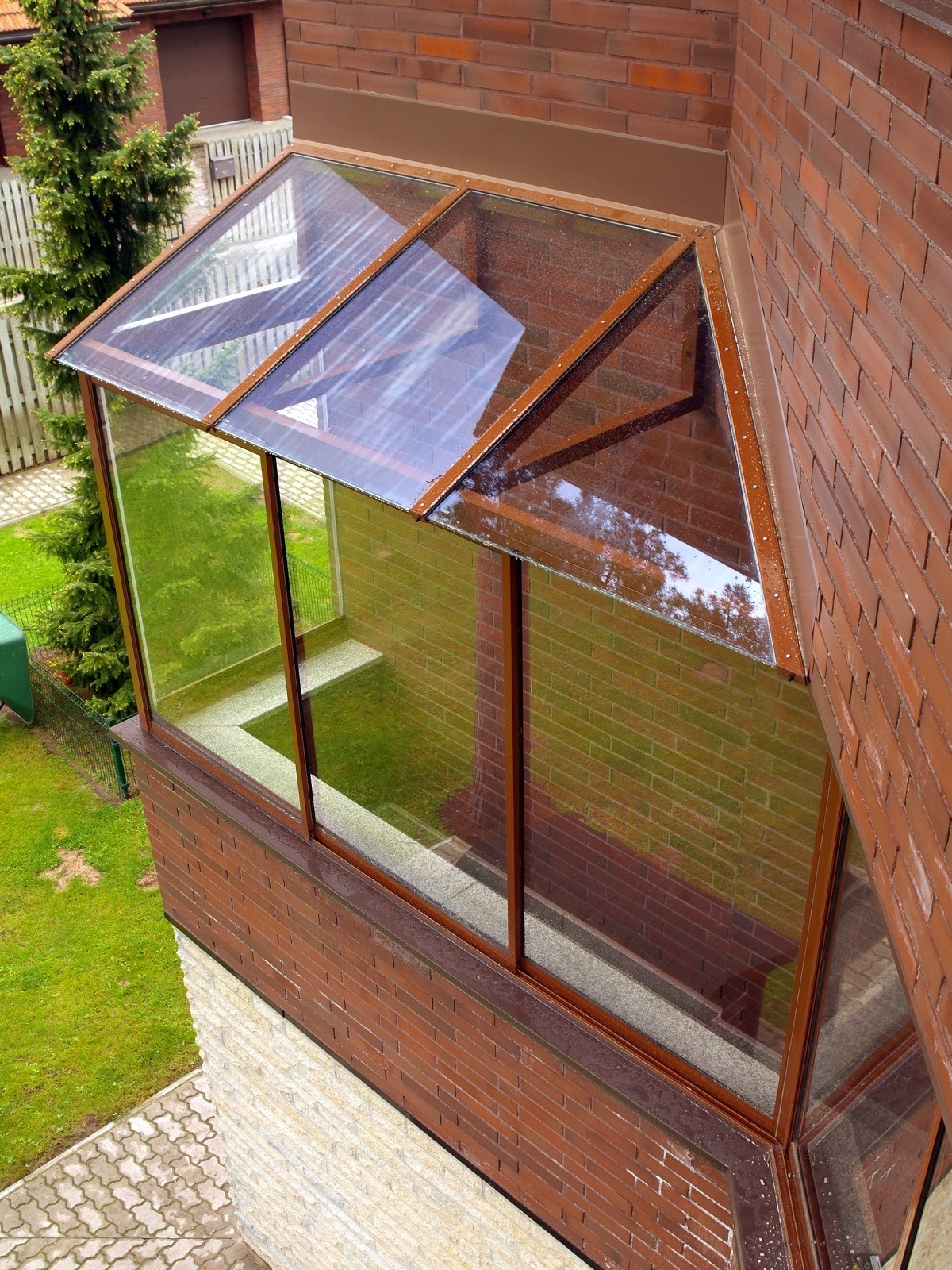 Glass Aluminium Roof Malmerk