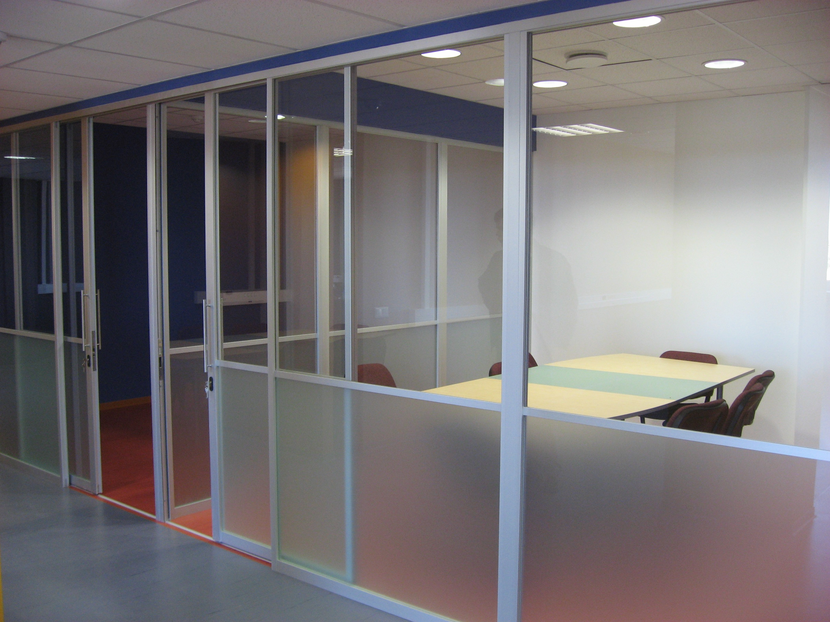 Aluminium Framed Glass Partiton Walls Malmerk